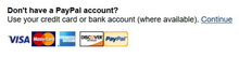 Dont have a PayPal account 220x54